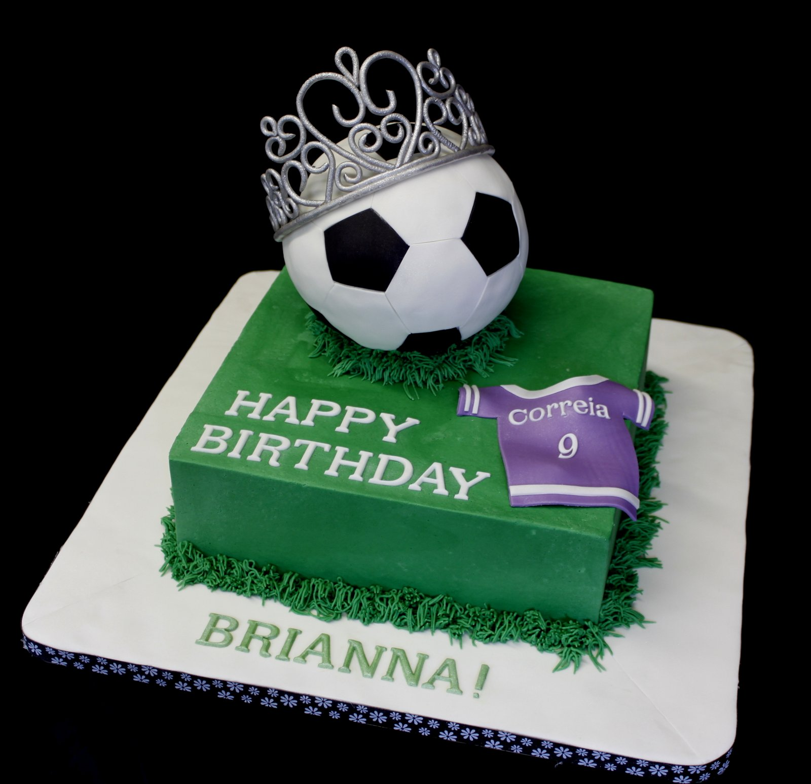 Amazing Grace Cakes Soccer Princess