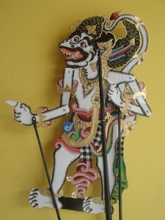 Hanuman Leather Puppet