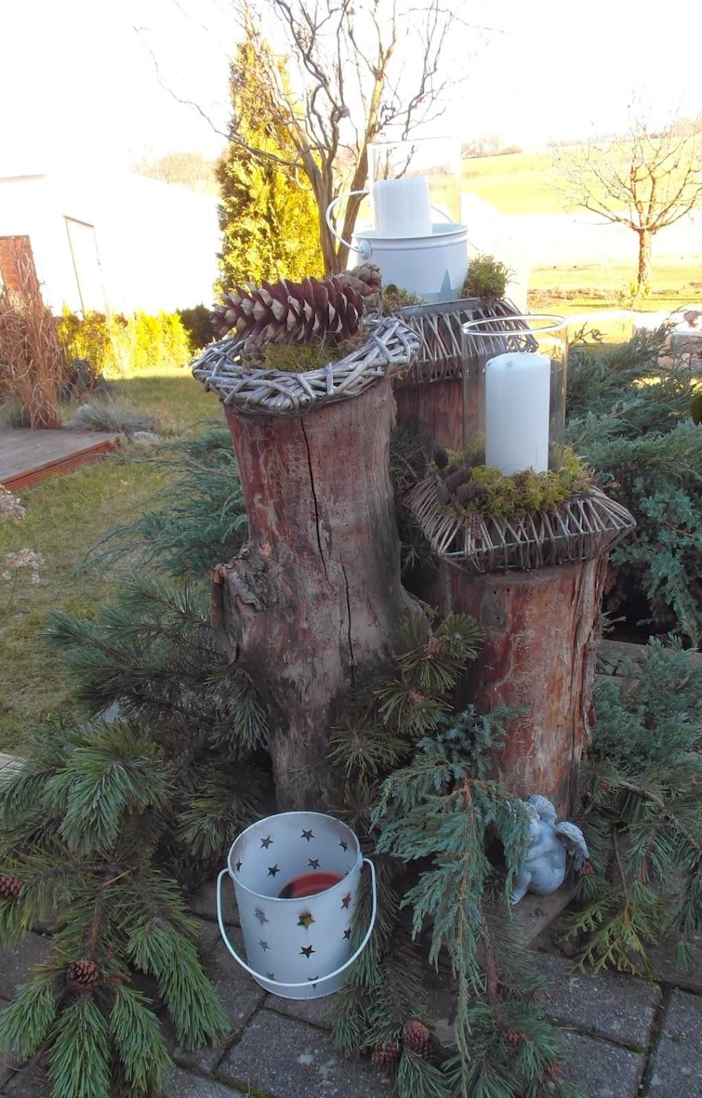 Haus voller ideen winterdeko for Winterdeko garten