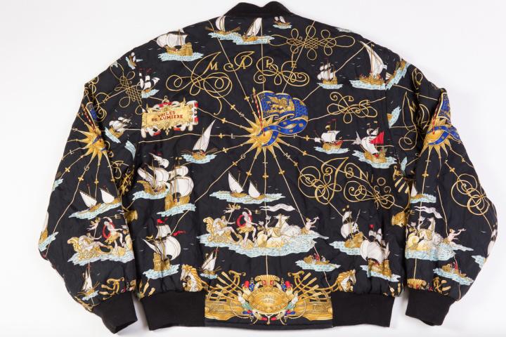 Vintage hermes bomber jacket