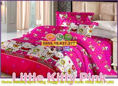 Harga Sprei King Tinggi 30 Fata Hello Kitty Pink / Littl Jual