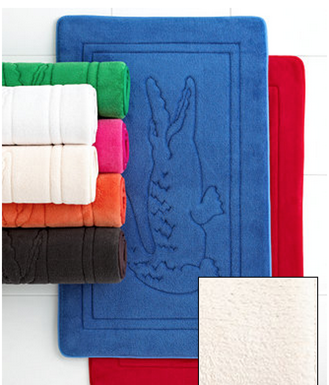 My Superficial Endeavors Lacoste Makes Awesome Bath Towels