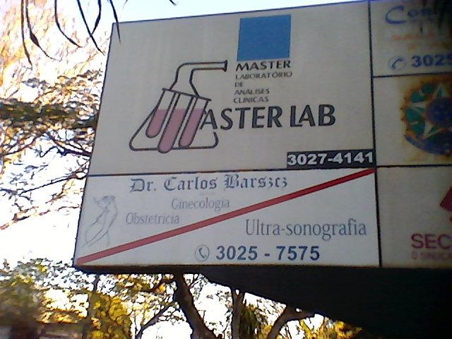 MASTER LAB  LABORATORIO DE ANALISES CLINICAS
