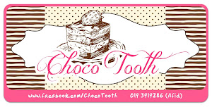 CHOCO TOOTH BROWNIES BY AFID SANUSI
