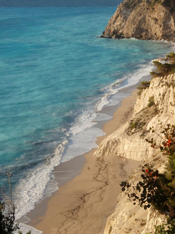 Der Strand Egremni auf Lefkada