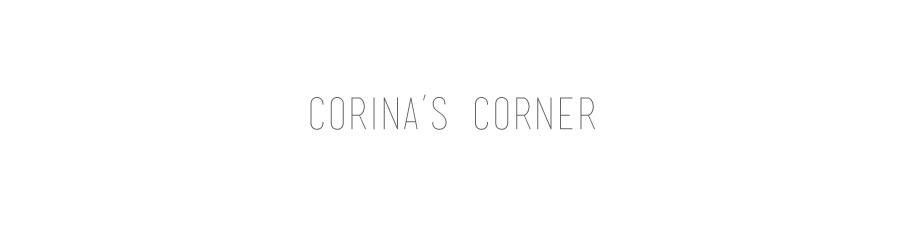 Corina's Corner