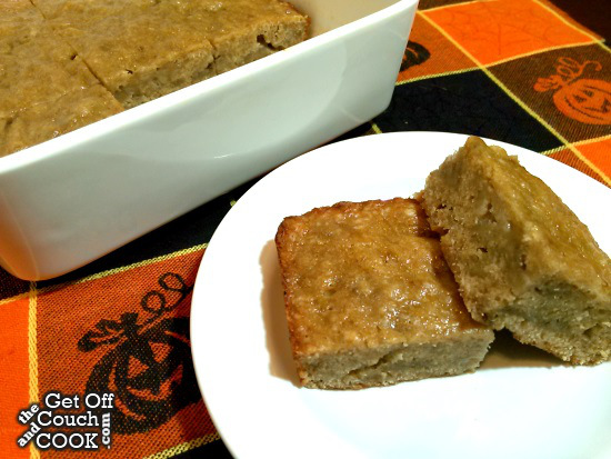 Featured Recipe | Banana Blondies from Get Off The Couch and Cook #SecretRecipeClub #recipe #banana #blondies #dessert