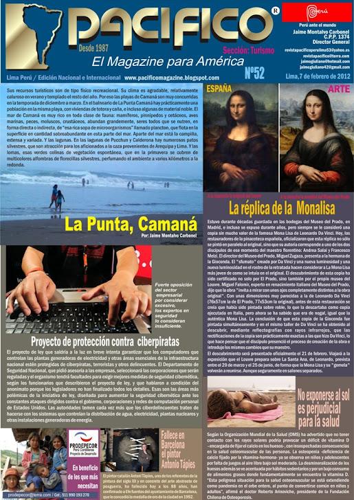 Revista Pacífico Nº 52 Turismo