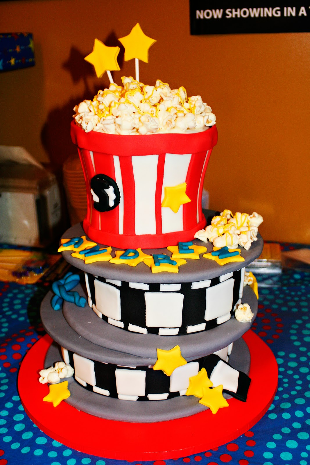cutest little things  5th birthday movie party