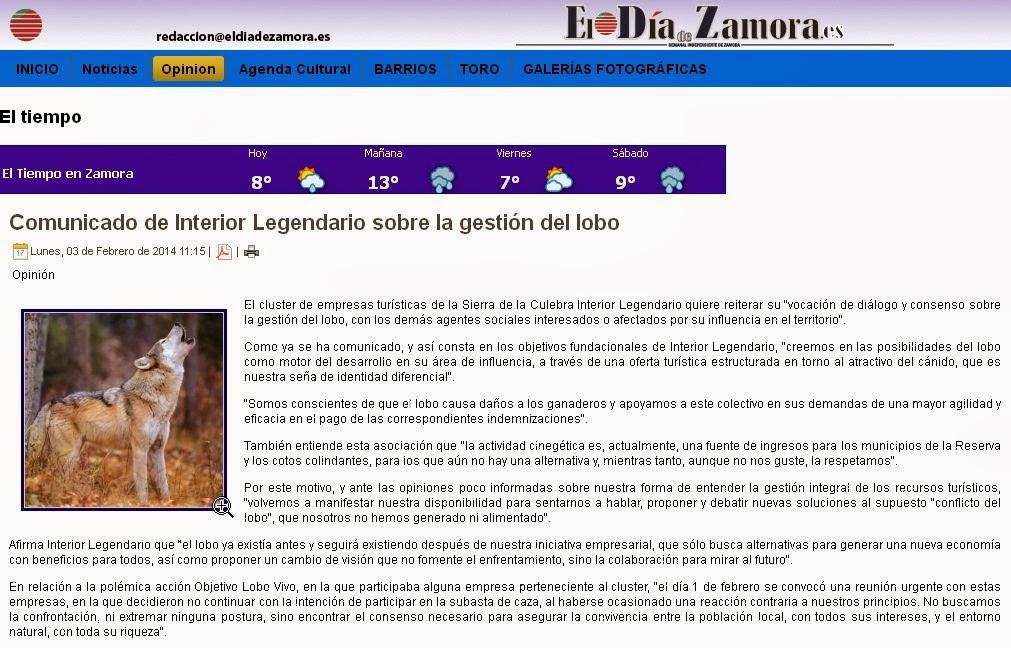 http://www.eldiadezamora.es/index.php/opinion/17-opinion/16105-comunicado-de-interior-legendario-sobre-la-gestion-del-lobo