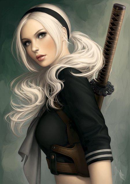 warren louw ilustrações mulheres sensuais e perigosas