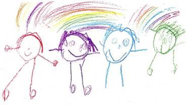 Kindertekeningen Maart 2012