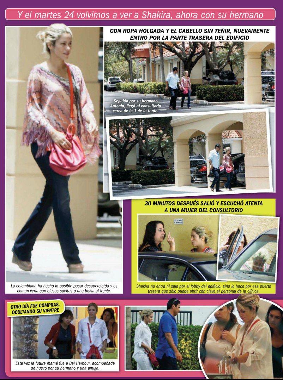 Revista tv notas shakira y gerard piqu 233 visitan ginec 243 logo en miami