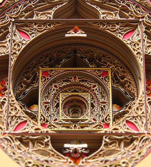 Incredible Laser Cut Paper Art Gallery