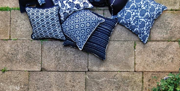 Sample Sale this weekend:  Luru Home's lovely pillows for sale in Southampton!