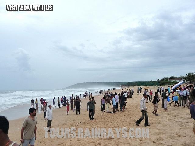 Calangute Beach Tourist Goa India. Cheap and best tour india