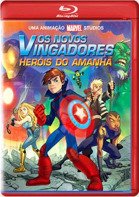 Filme Poster Os Novos Vingadores: Heróis do Amanhã BDRip XviD & RMVB Dublado