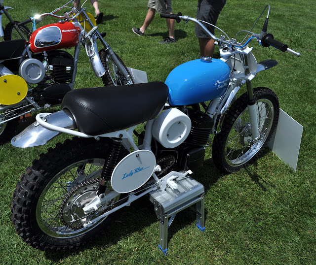 The Only Ladies Husqvarna Ever Built