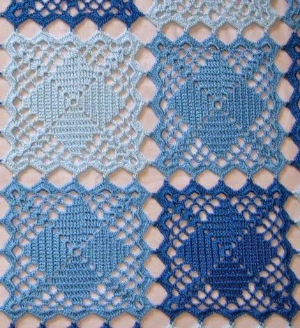 Extranet Crochet Bedspreads - Free Pattern