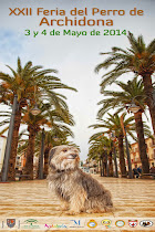 Cartel XXII Feria del Perro Archidona 2014
