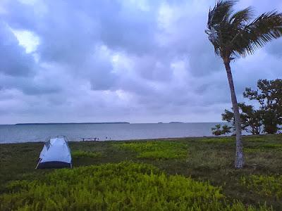 Campsite Everglades National Park