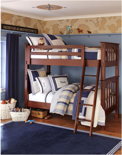 Pottery Barn Boys Room
