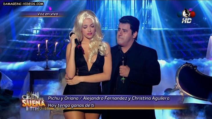 Oriana Sabatini hot dress in HD video
