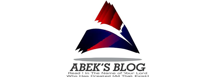 Abek's Blog
