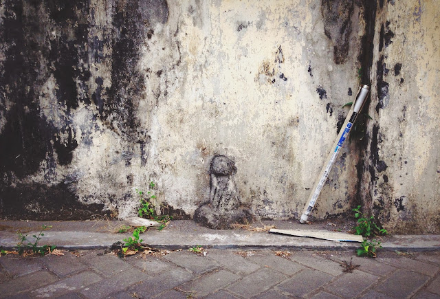 Street art at Jalan Affandi (2)