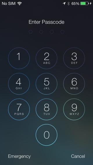 Как в айфоне сделать 4 значный пароль
