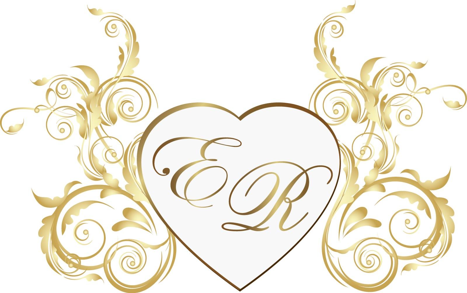 Suficiente Diva do Casamento: Monograma e Brasão CN81