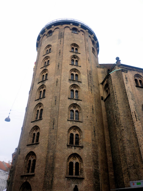 The Round Tower in Copenhagen, Denmark
