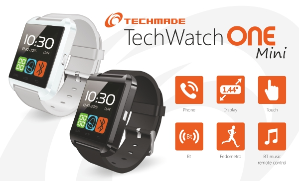 TECHMADE SMART WATCH BLUETOOTH
