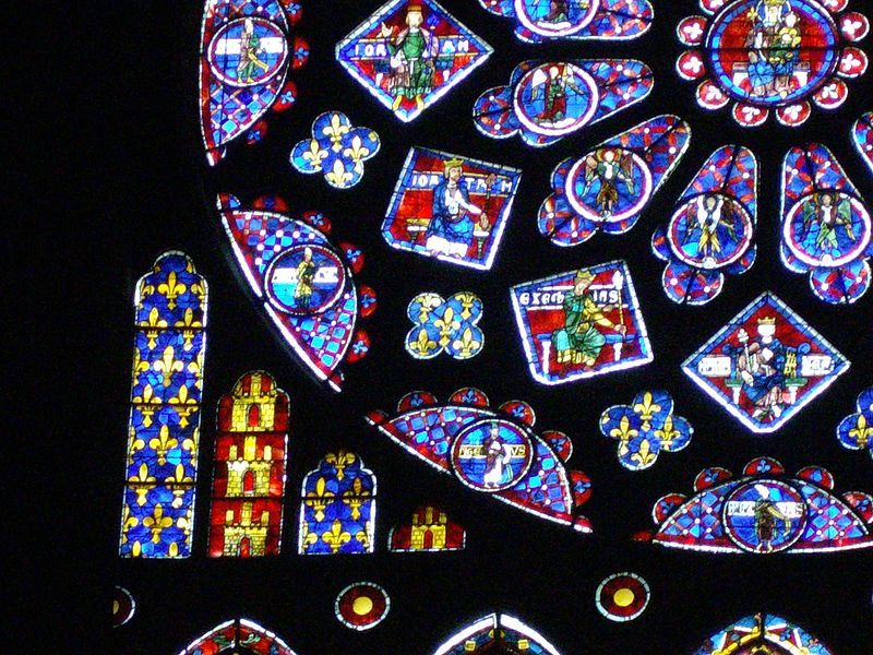 Chartres Cathedral S North Rose Window Art History Blogger