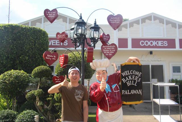 Renz Cheng in Baker's Hill in Palawan