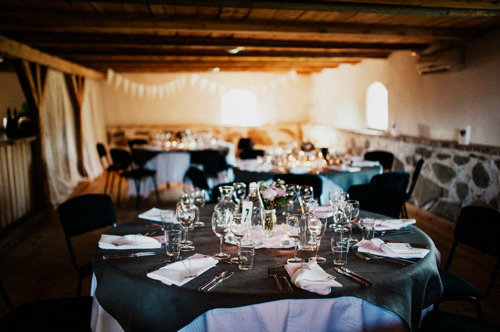 Bröllopsfest i Vallens Säteri utanför Laholm