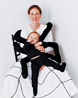 mum with child dressed as spider halloween Martha Stewart Liz and Pip Ltd