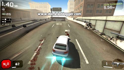 Atropella y elimina zombies en el juego Zombie Highway 2