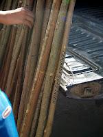 Bonics bastons de fusta de boix i avellaner