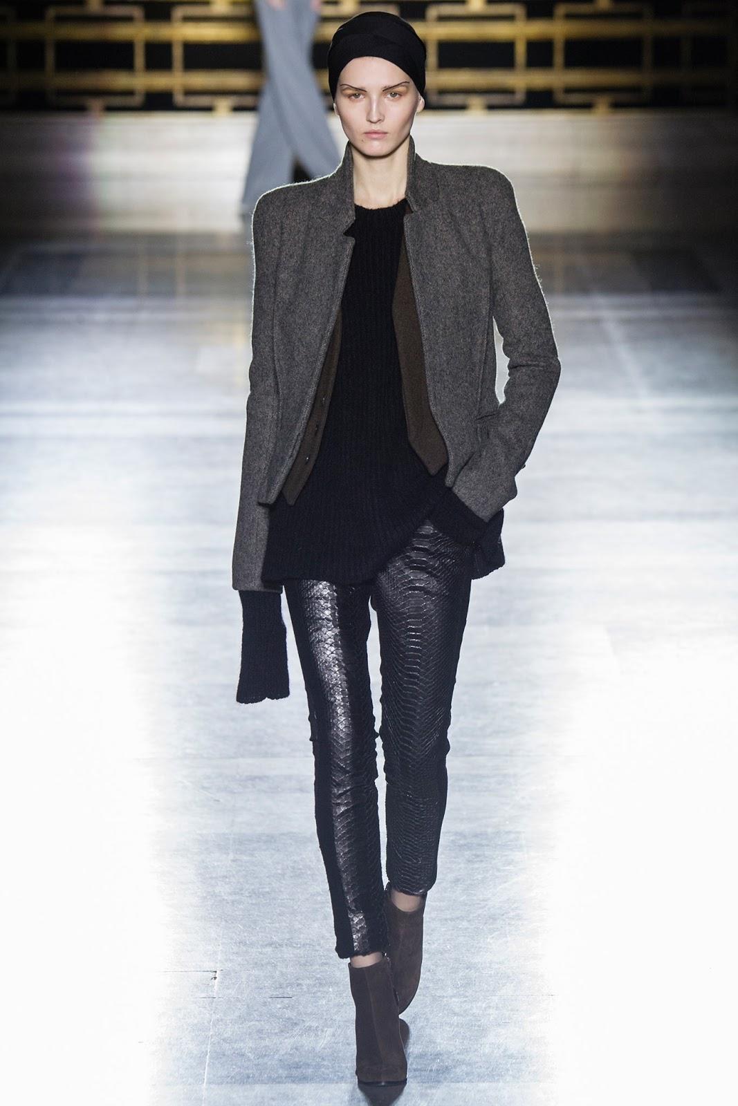 Haider Ackermann Fall/Winter 2014 | paris fashion week