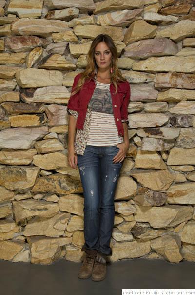 Vov Jeans Moda otoño invierno 2012. Looks invierno 2012.