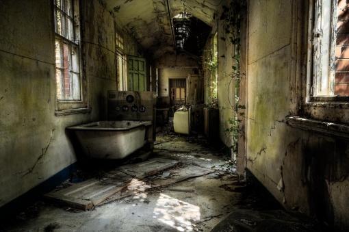 sanatorio abandonado