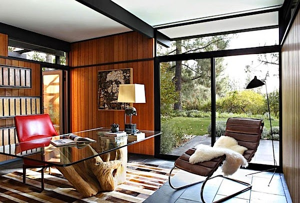 Mid Century Interior Design For California House View Home Design