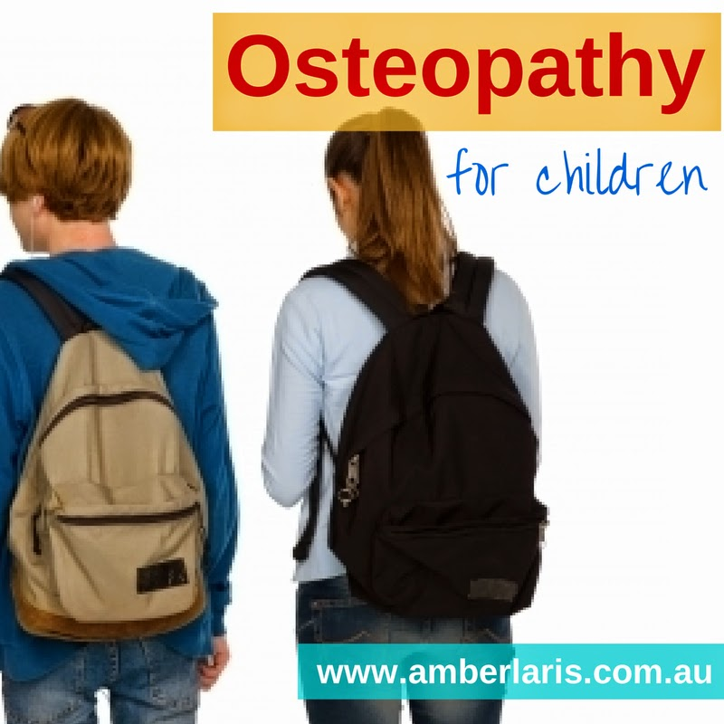 Amber Laris is an Adelaide osteopath who treats both adults and children
