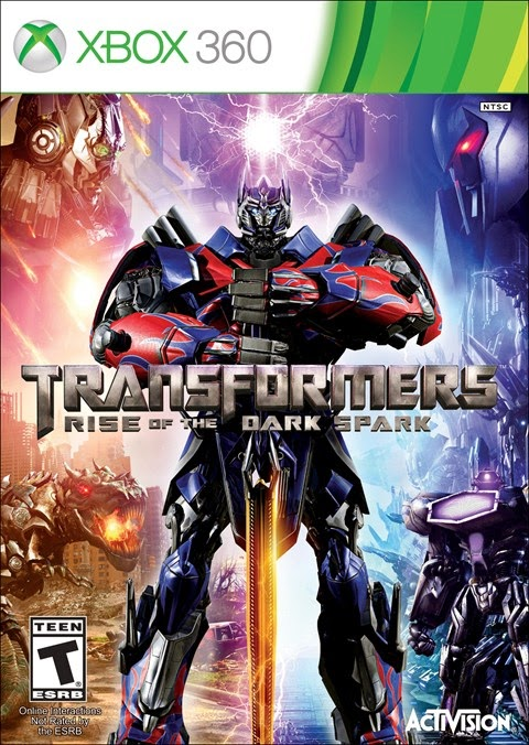 Transformers Rise of The Dark Spark (2014) X-BOX 360 - Torrent