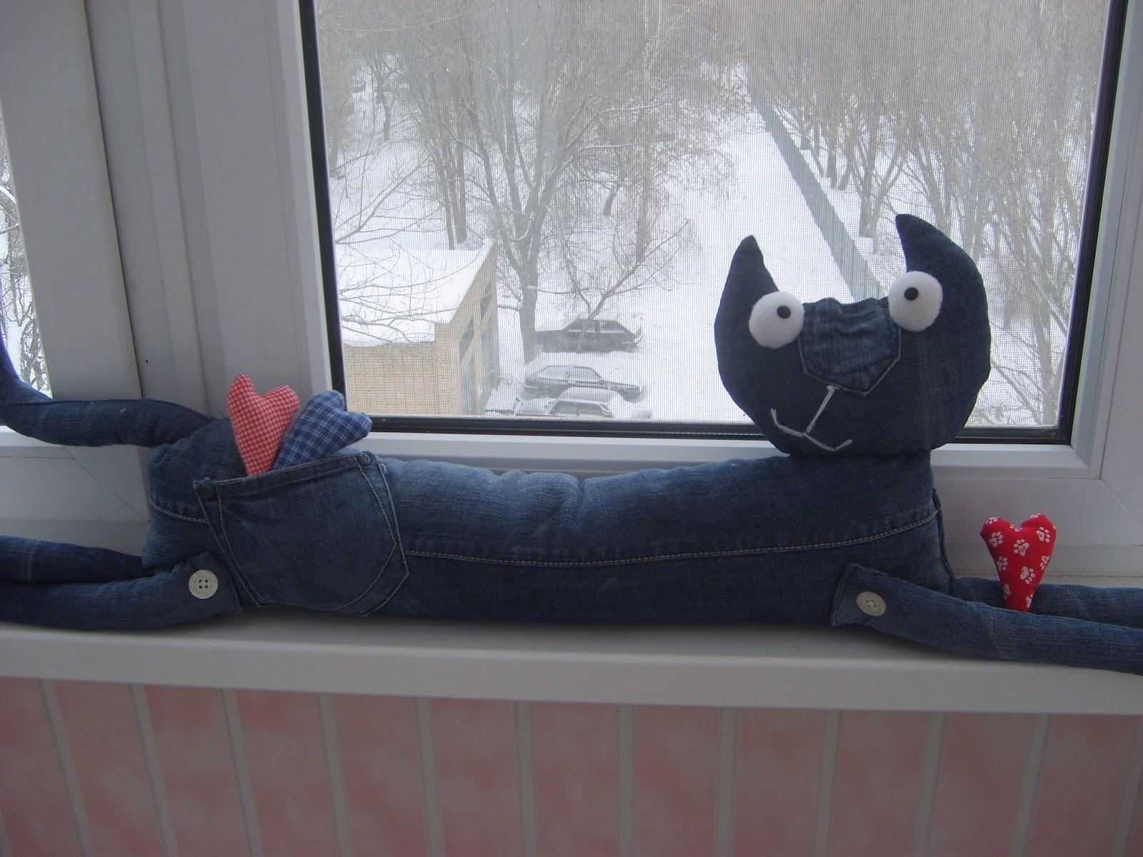 Игрушка из джинсовой ткани своими руками фото