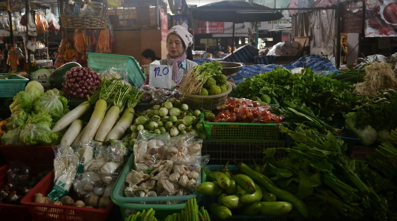 Chiang Mai Food market