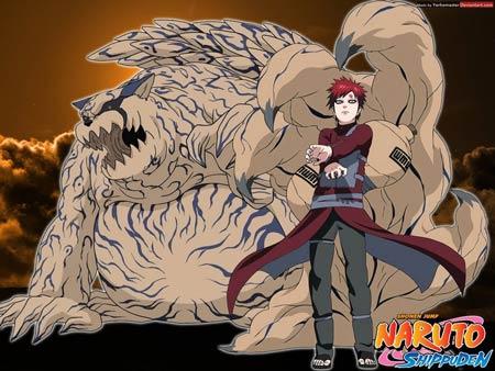 9 Bijuu dan Jinchuuriki dalam Naruto Shippuden