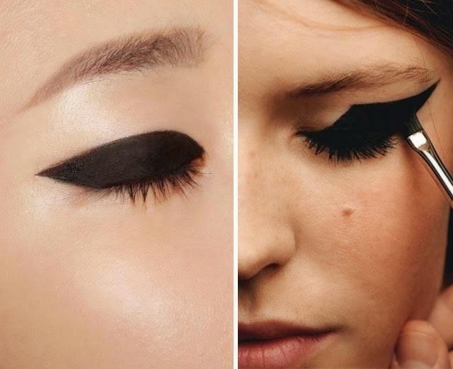 Tendance eye liner epais