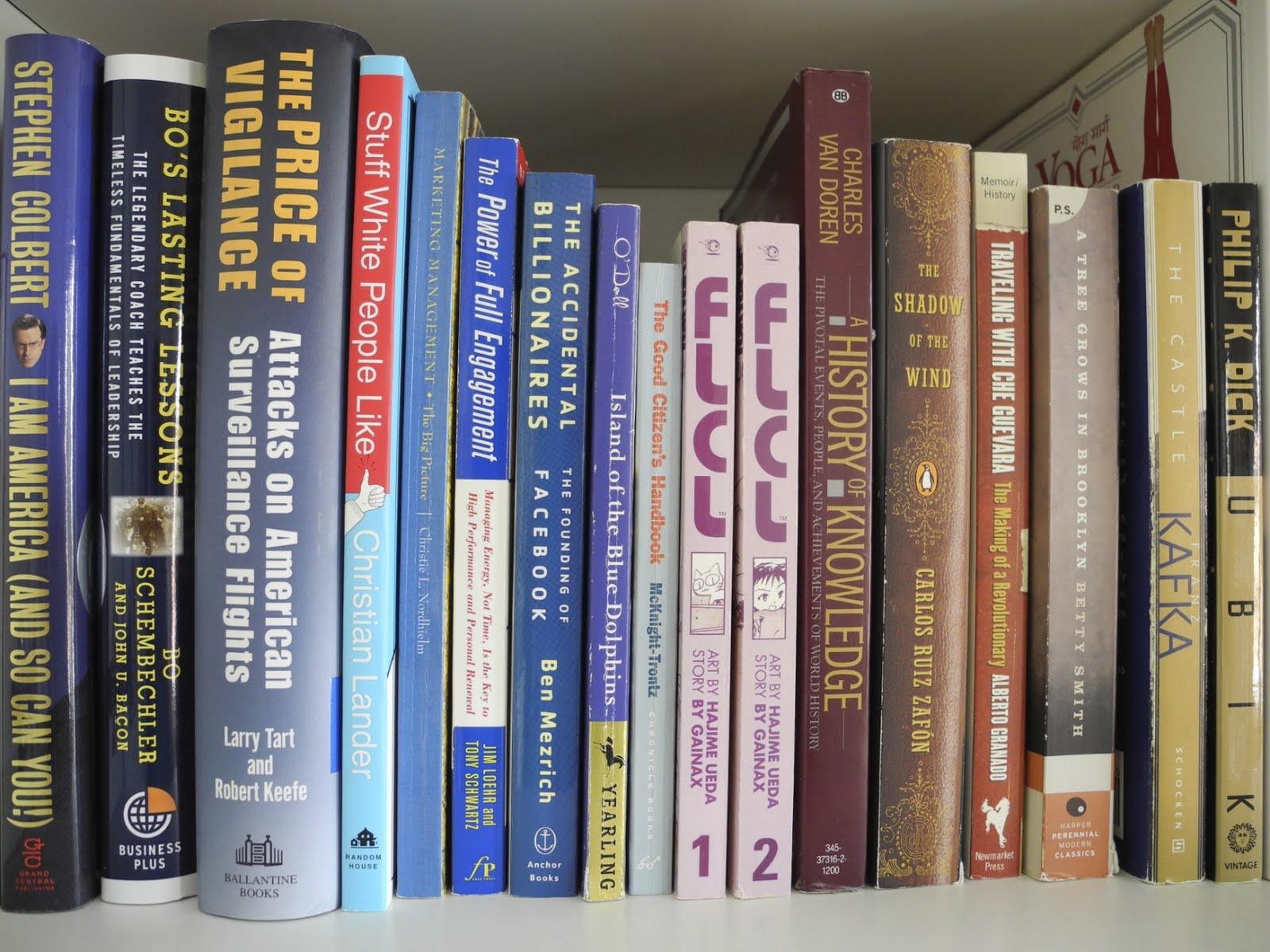 Simply Us Rainbow Bookshelf